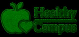 Distintivo educación saludable healthy campus